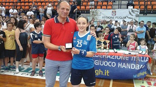Indeco Conversano U18 femminile campione italiano