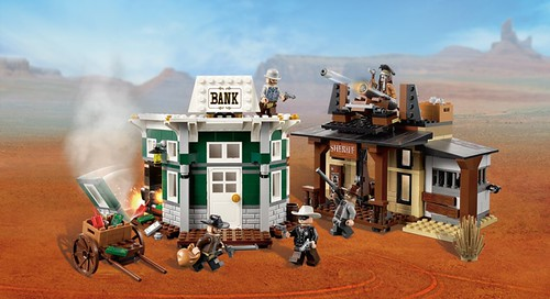 LEGO The Lone Ranger 79109 Colby City Showdown 00 79109 B