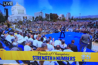 Golden State Warriors - Victory Parade Kpix5 live