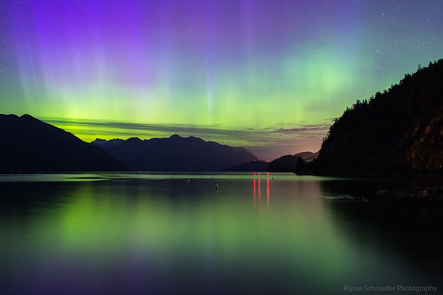 Northern Lights in Vancouver