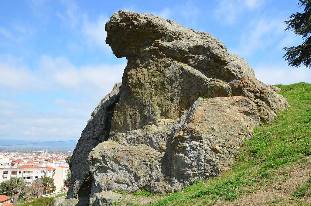 The Weeping Rock In Mount Sipylus Manisa Turkey Known A