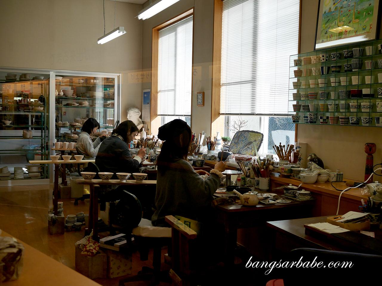 Tobe-yaki Pottery (2)