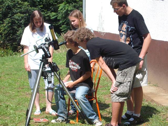 VCSE - Napészlelő a nyári táborban.