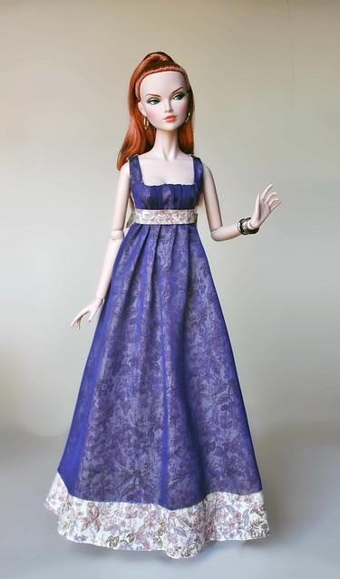 "Fashion Royalty Poppy Parker 16"" Silver Shine"