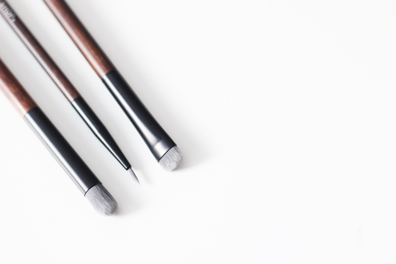 The Body Shop Vegan Brushes - Crease, Smudging and Eyeliner