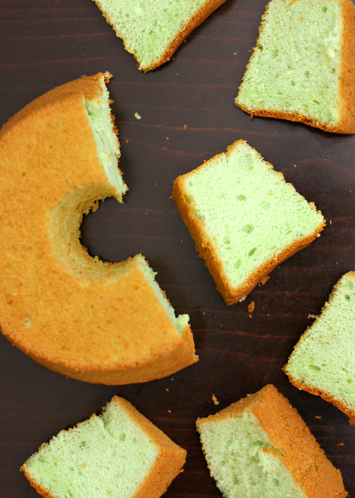 The Ultimate Pandan Chiffon Cake: Moon River
