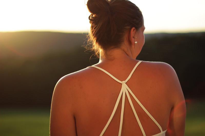 Ein schöner Rücken kann auch entzücken