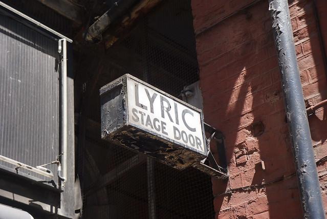 LDP 2015.06.07 - Lyric Stage Door