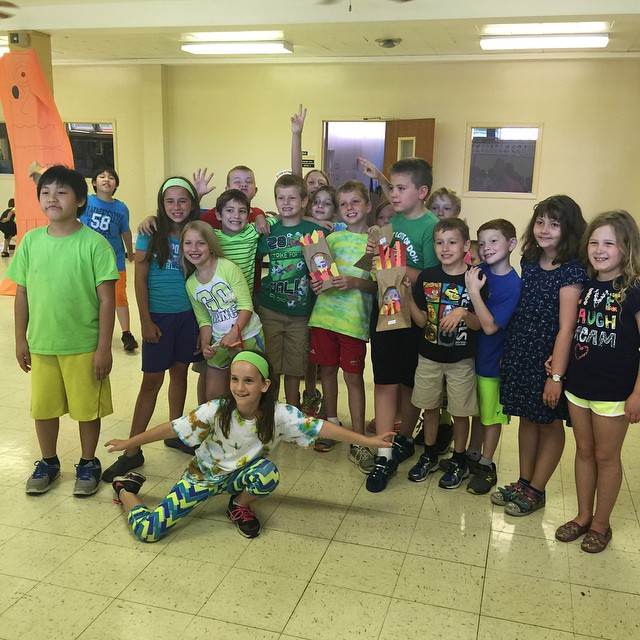 It's VBS week and this is my group! We are having so much fun learning and growing together. I can't believe we got them all to stay still for a group photo. #vbs #Lutheran #camp