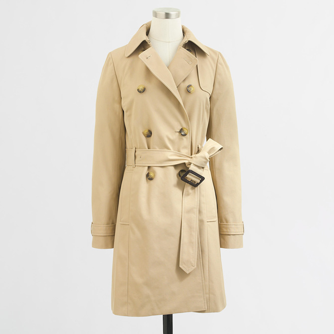 jcrew factory trench