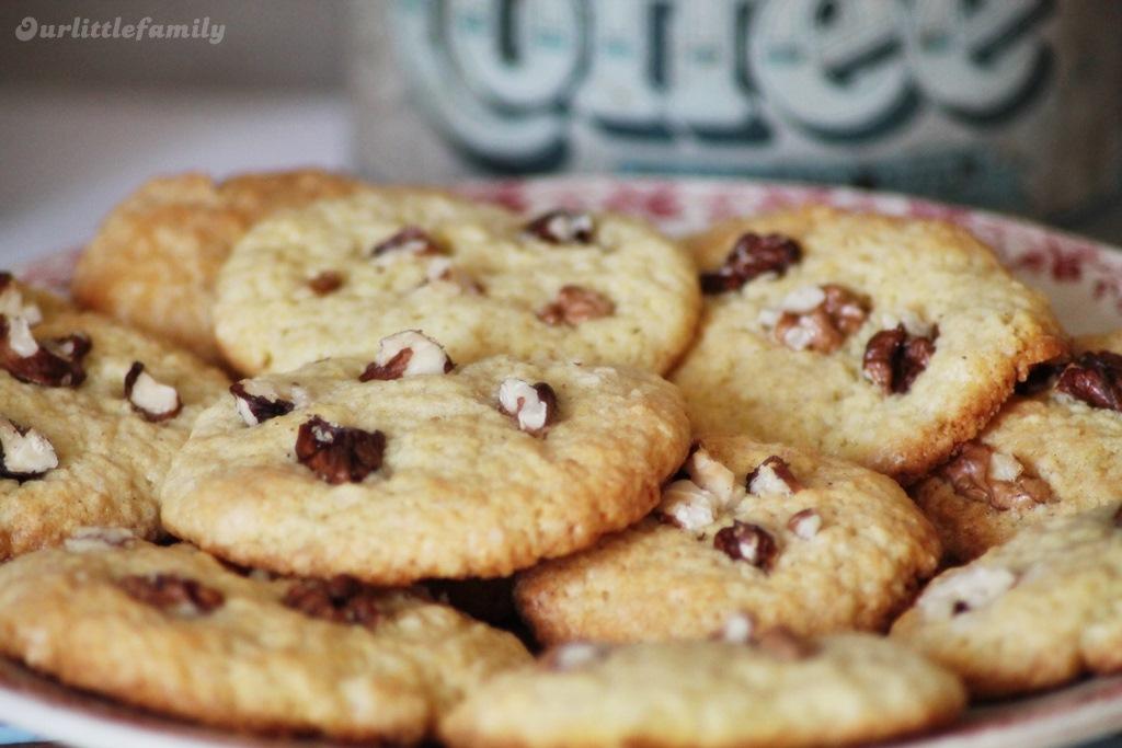 cookies aux noix 1