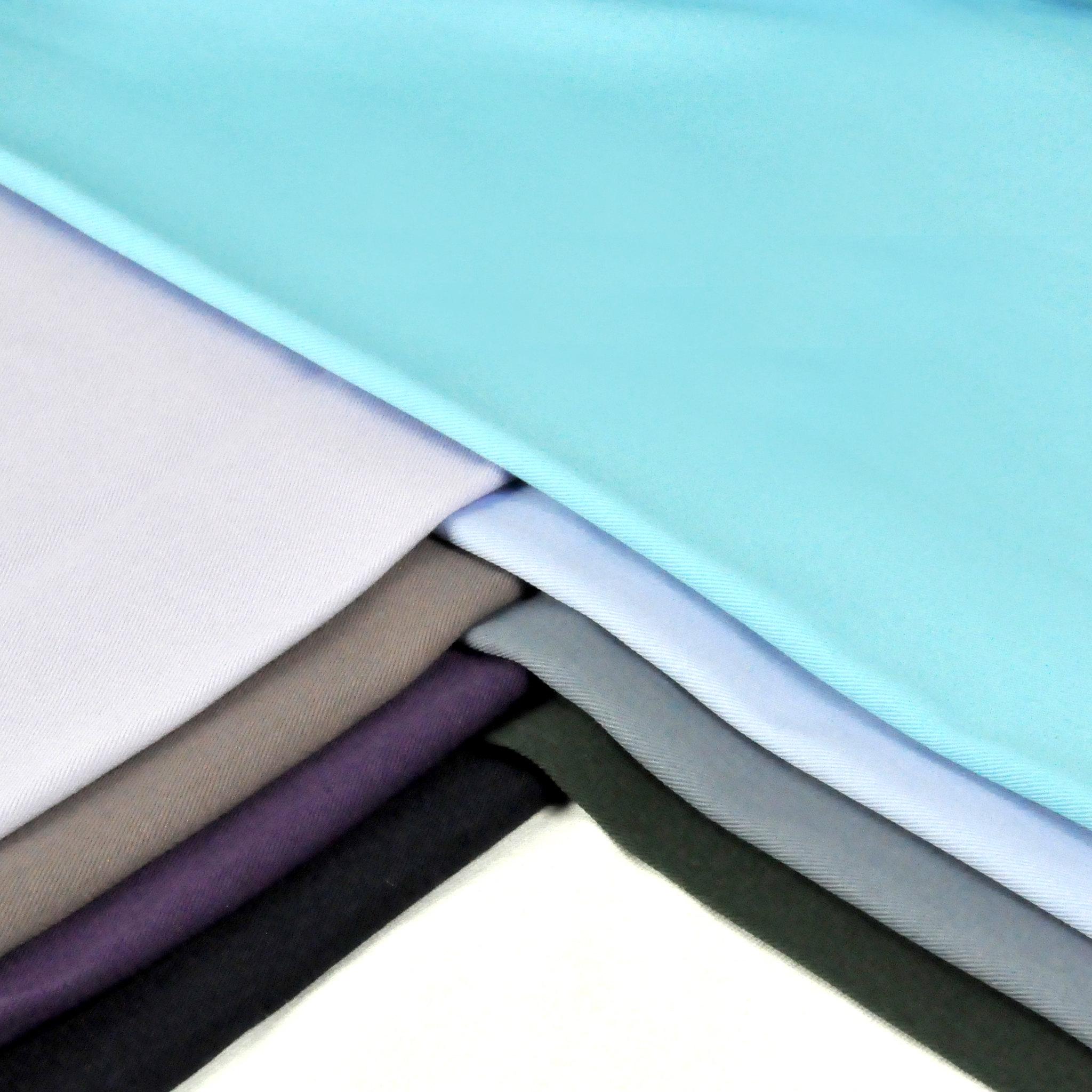 2C590037 冷色系 純棉素面 斜紋布 4尺9