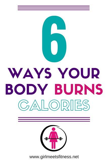 6 ways to burn calories - www.girlmeetsfitness.net