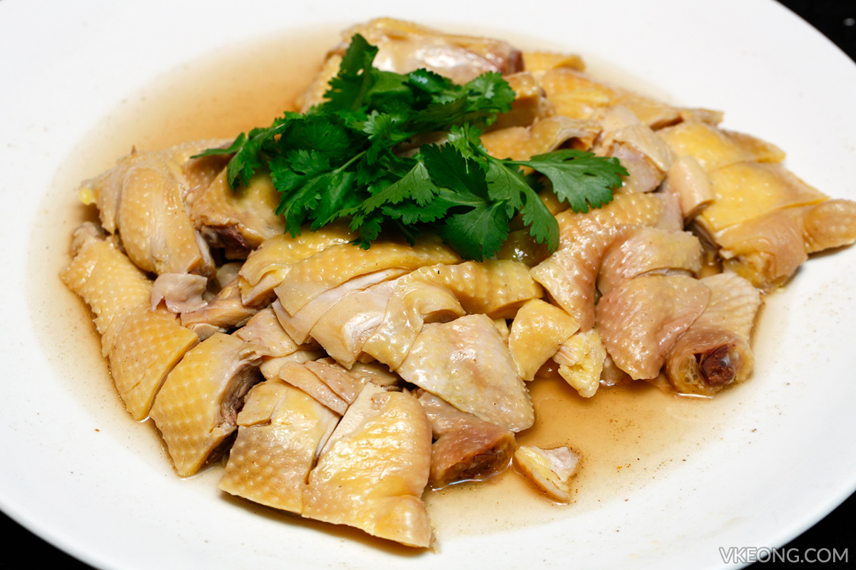 Simmered Chicken in Bouillon