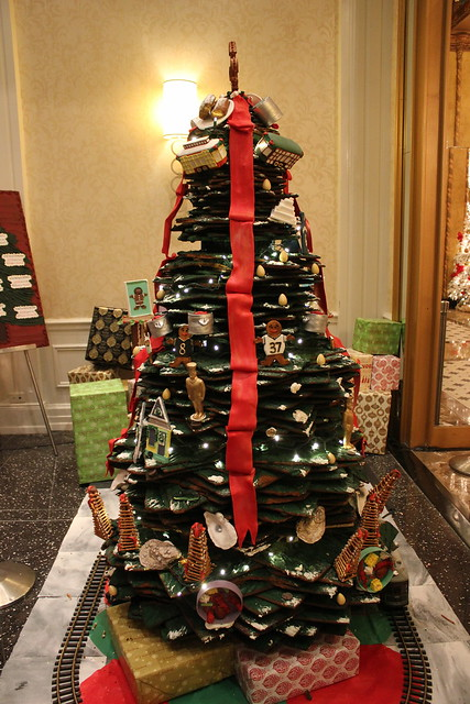 Christmas Decorations at Roosevelt Hotel, New Orleans