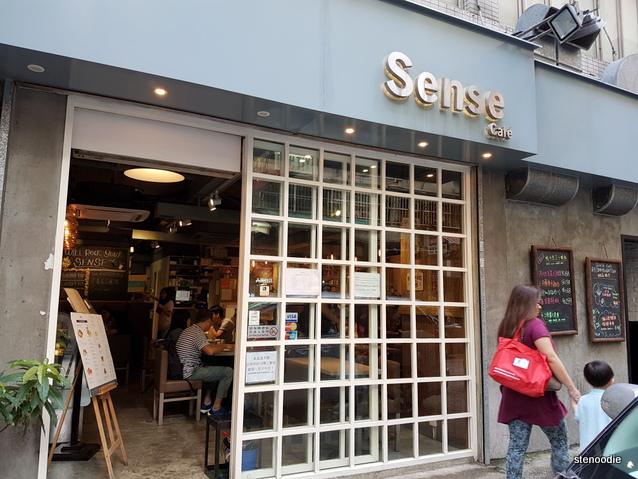 Sense Dessert Cafe storefront