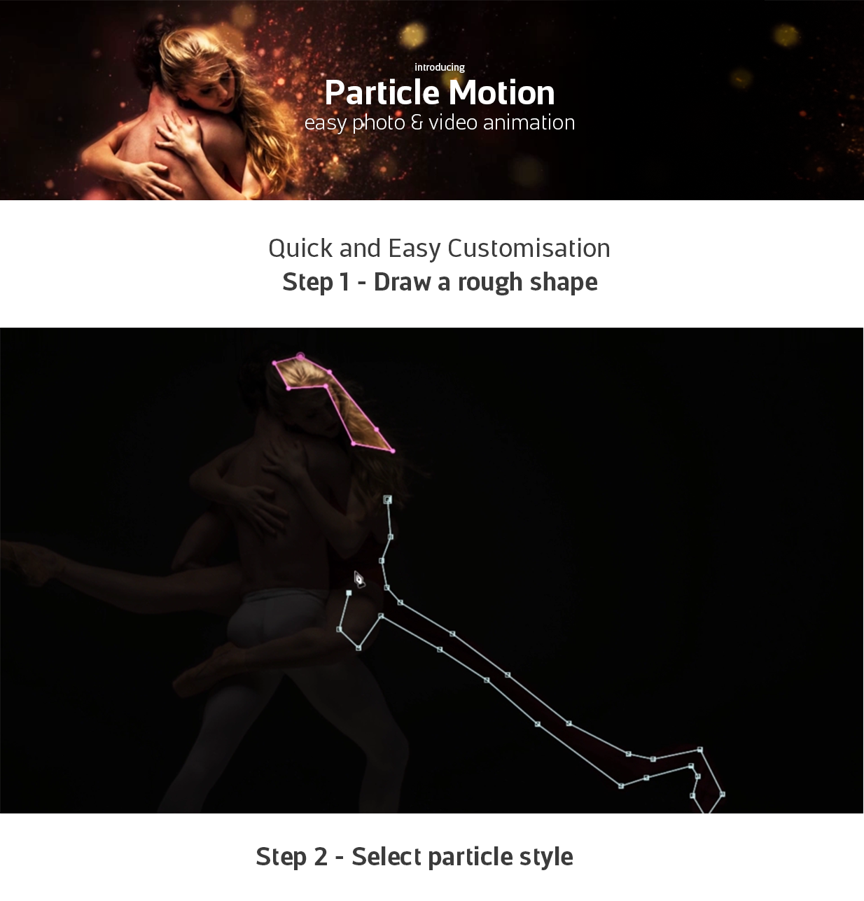 Particle Motion – Photo Animation Particular Effects