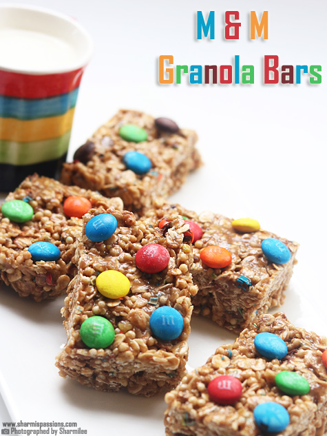 M and M Granola Bars
