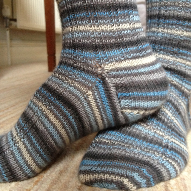 blue striped socks 2