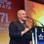 Paul Steele, IATA Senior Vice President, Member, External Relations Affairs