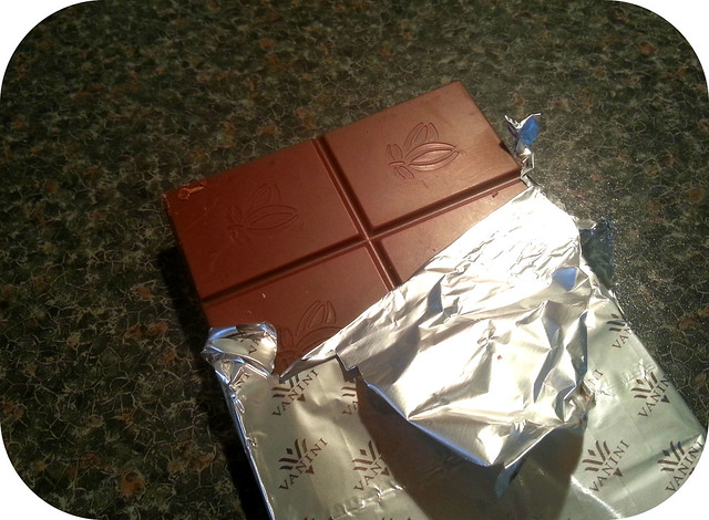 Vanini Milk chocolate with salt