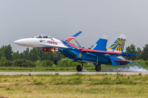 Su-27 Russian Knights | by RealHokum