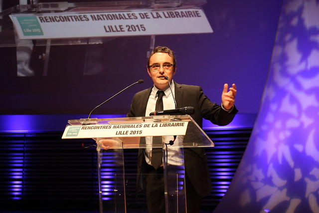 Vincent Monadé (CNL) - Rencontres nationales de la librairie 2015