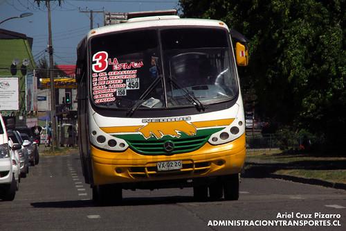 Los recorridos de micros de valdivia transporte p blico for Oficina transporte publico