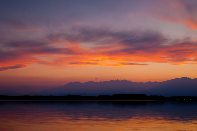 Viverone Lake | Sunset 2015