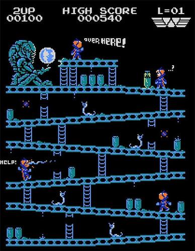 Donkey Kong mash-ups by BazNet - Prometheus