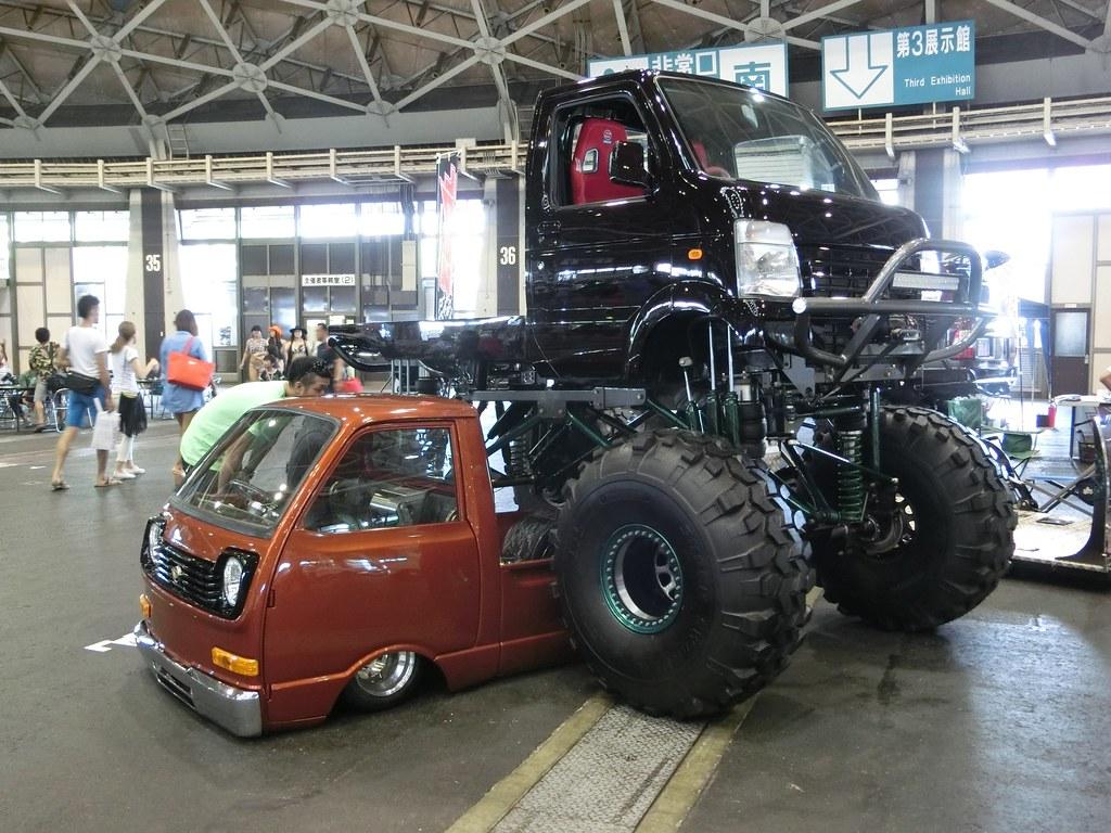 Suzuki Mini Truck Lifted
