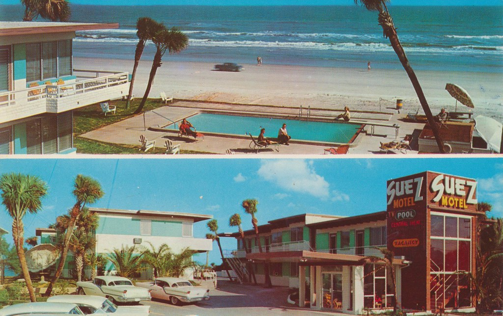Suez Beach Motel - Daytona Beach, Florida
