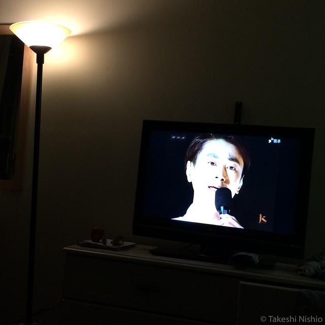 Kiyoshi on TV