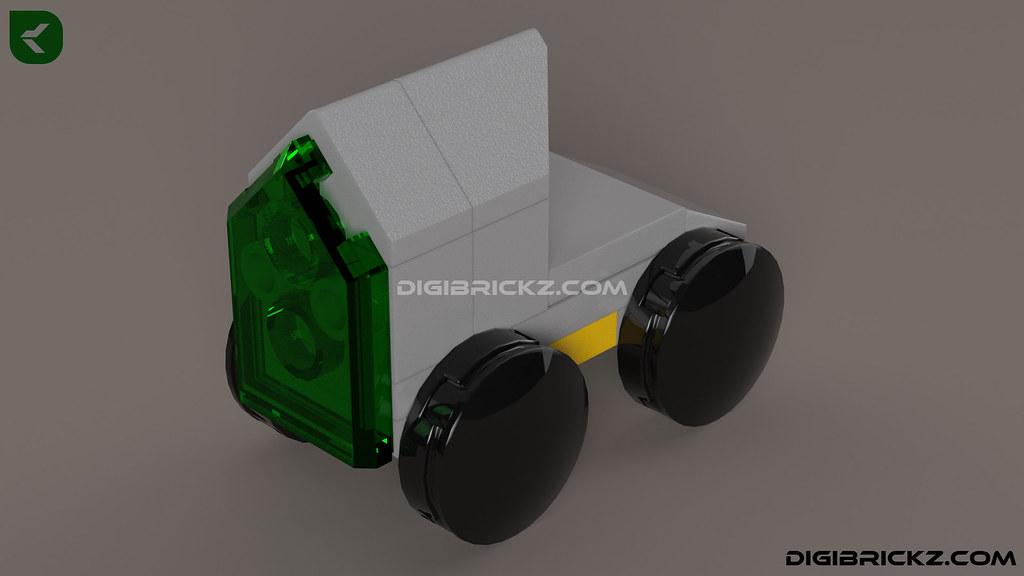 LEGO Tron Rover (T-Rover) by Kamal Muftie Yafi (KamalMYafi/Kamteey)