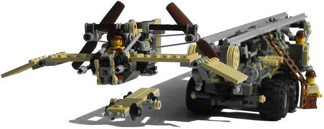 """""""Onager"""" Five-Wheeled Diesel Launcher Truck Mk. XXIX (aircraft)"""