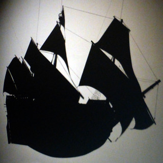 ship shadow