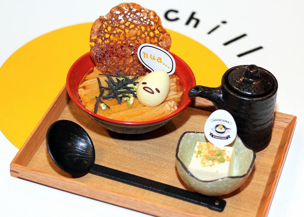 古德塔玛咖啡店Shoyu拉面甜点