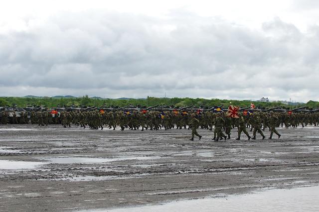 第7師団創隊60周年・東千歳駐屯地創立61周年記念行事_42