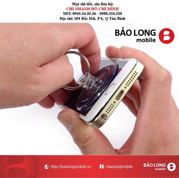 Cần lưu ý gì khi cần thay mặt kính smartphone iPhone 6 tại Sài Gòn?