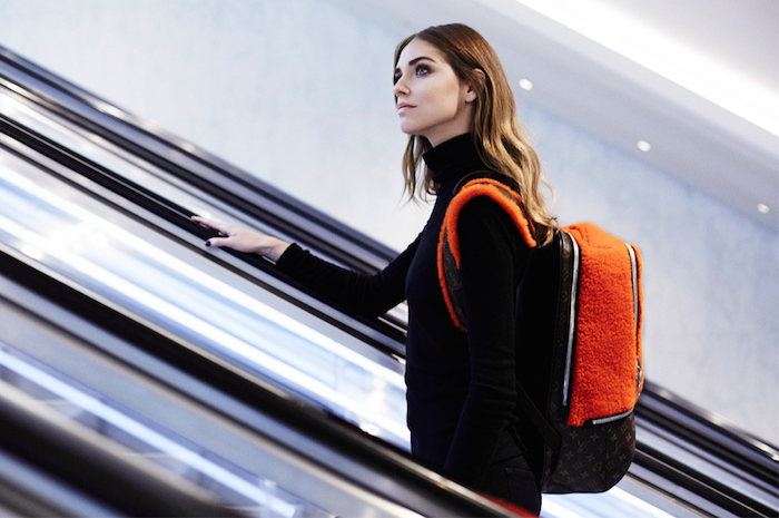 Lv Backpack chiara ferragni
