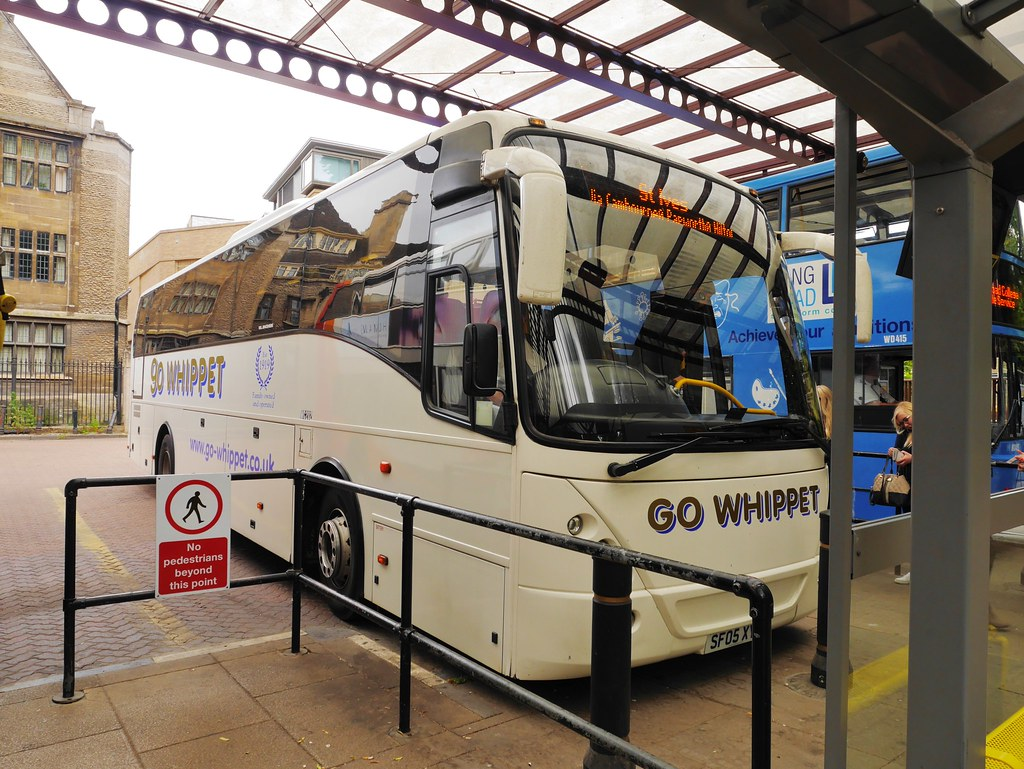 Go Whippet Coach WC202: Bus Station Cambridge