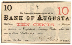 GA, Augusta-B of Augusta-$000.10 1863-01-01 GD
