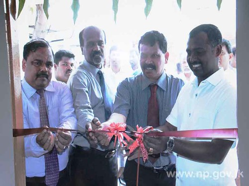 Minister's Sub Office opened in Mannar