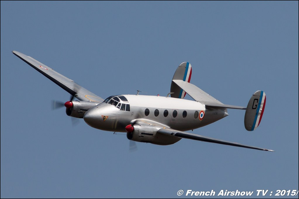 Dassault MD-312 Flamant - F-AZVG , Association Ailes Anciennes de Corbas, 70 ans BA-278 Ambérieu-en-Bugey, Meeting Aerien 2015