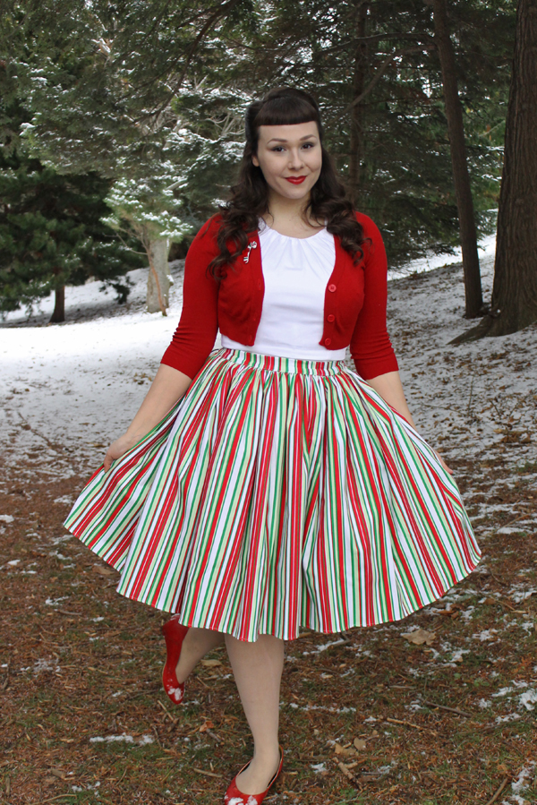 christmas outfit pinup