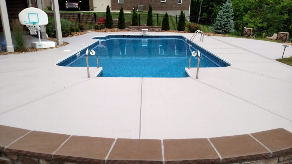 Delightful ... Sprayed Concrete Overlay Pool Deck  Concrete Surface And Design   Florence, KY | By