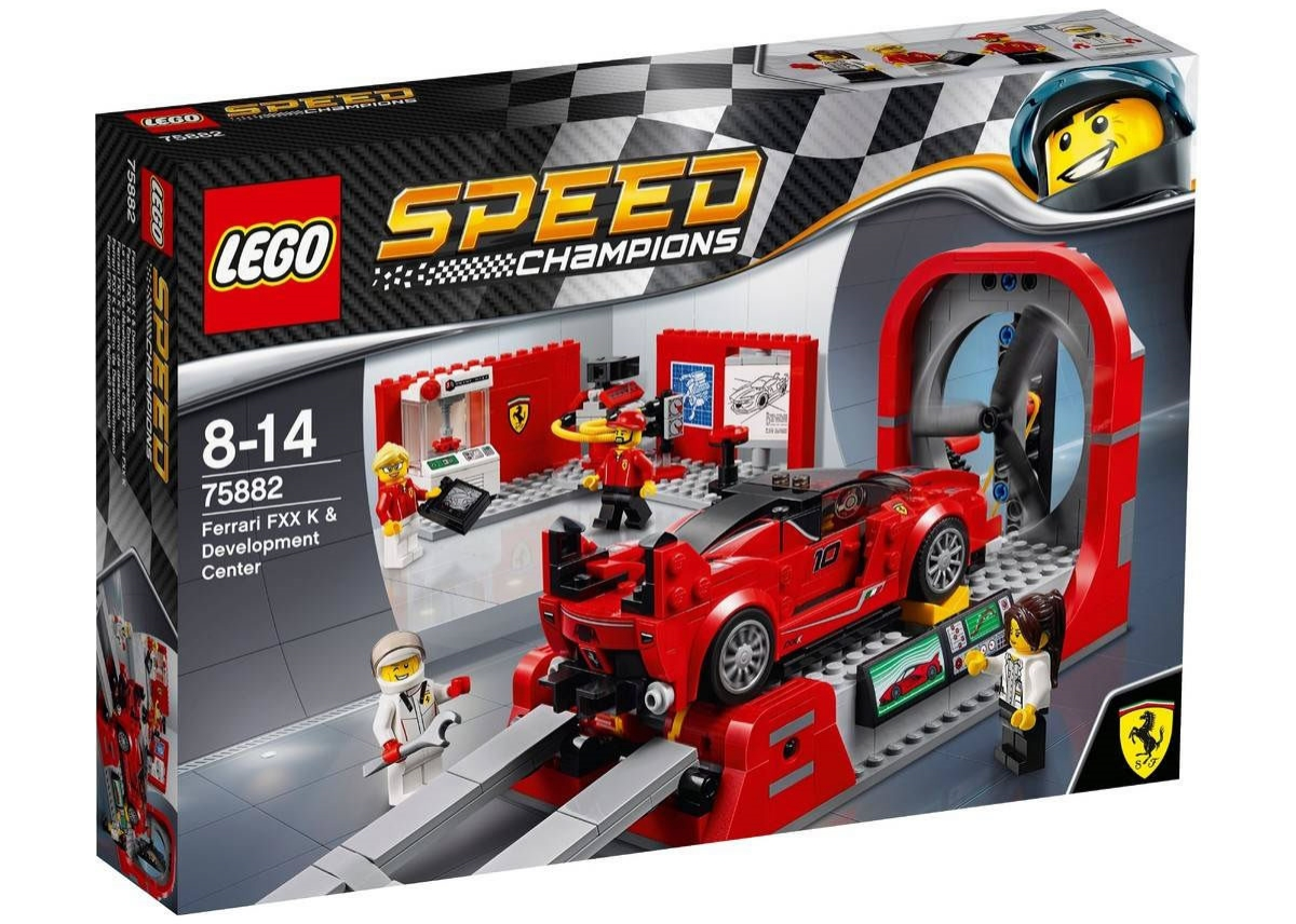 LEGO Speed Champions 75882 - Ferrari FXX K & Development Center