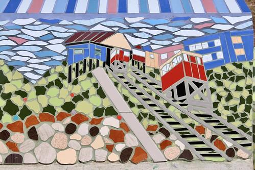 Mosaicos de Plaza La Conquista