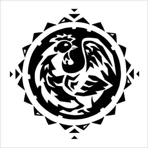 Chinese Zodiac: Rooster / Китайский зодиак: петух