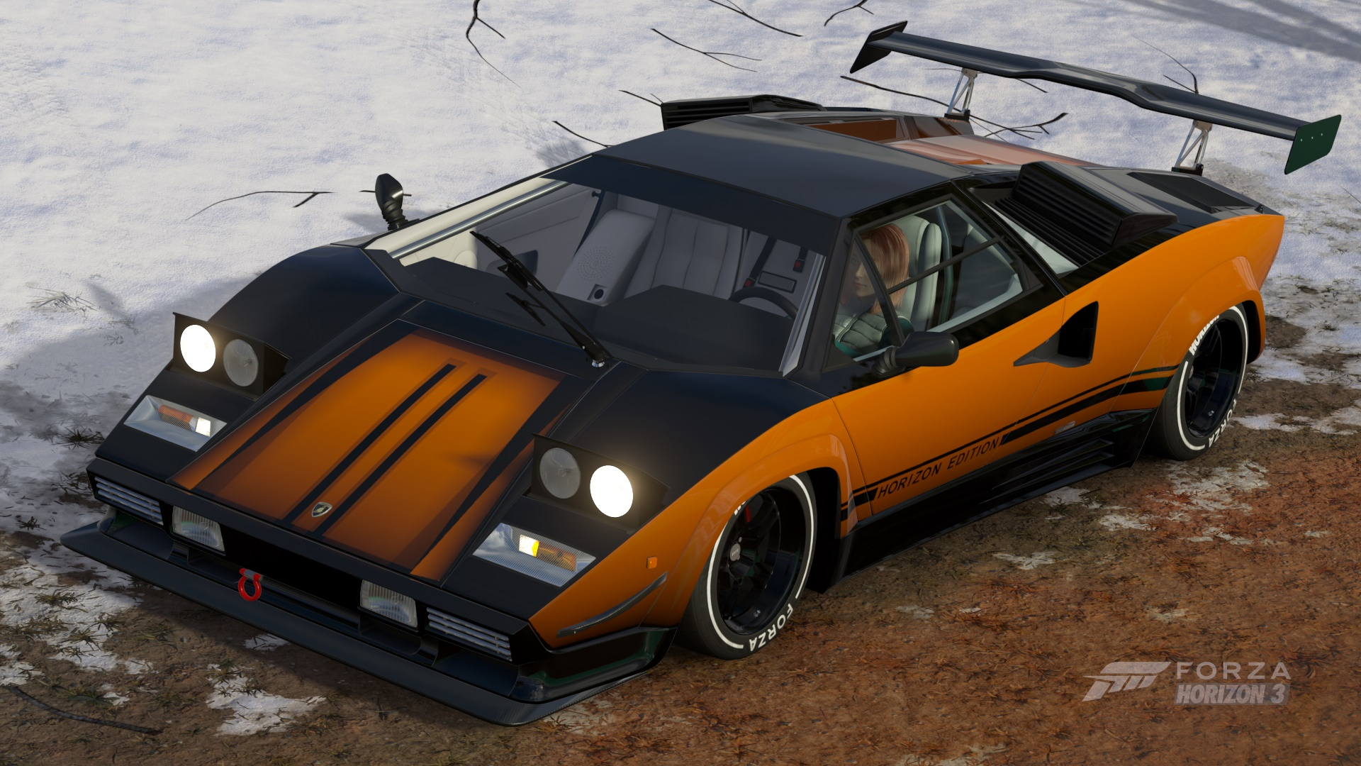 Image result for rear spoiler countach forza horizon 3